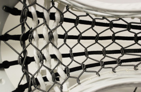 Revo 3 Lacrosse Head with 7 Diamond Traditional Pocket