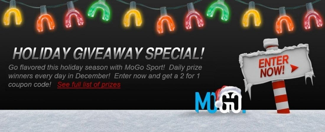 BOGO all flavored mouthguards at MoGoSport.com
