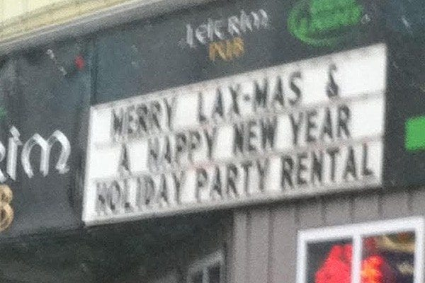 Merry Lax-Mas and Happy New Year