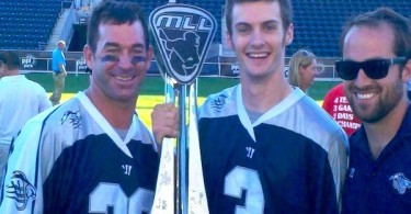 Casey Powell MLL Champion lacrosse