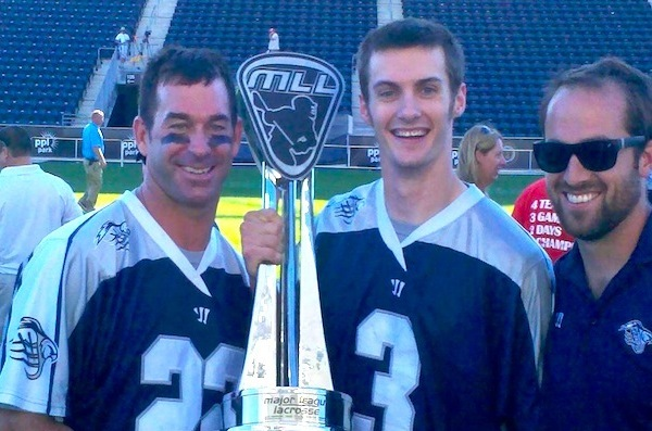 Casey Powell MLL Champion lacrosse