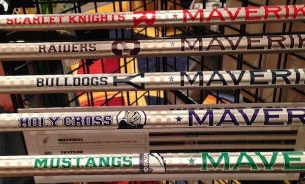 Maverik custom ncaa shafts