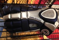 georgetown hoyas logo on rome glove by maverik lacrosse