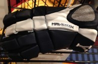Yale lacrosse gloves