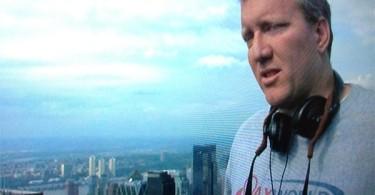 The Adjustment Bureau movie director George Nolfi wears Lax World shirt
