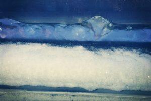 ice on the window
