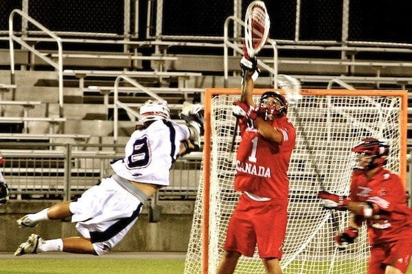 Matt Striebel, Team USA, International Lacrosse