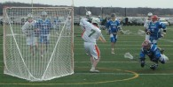 Photo credit: rob berkinbelt Brad Neuman 1st goal Israel vs Ireland Men's lacrosse 2014