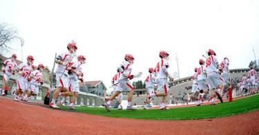 Cornell men lacrosse team intro photo credit: rich barnes