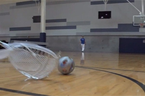 Dude Perfect YouTube Nerf Sports Edition Lacrosse Goalie Stick
