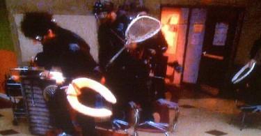Goalie Lacrosse stick on NBC Community tv show