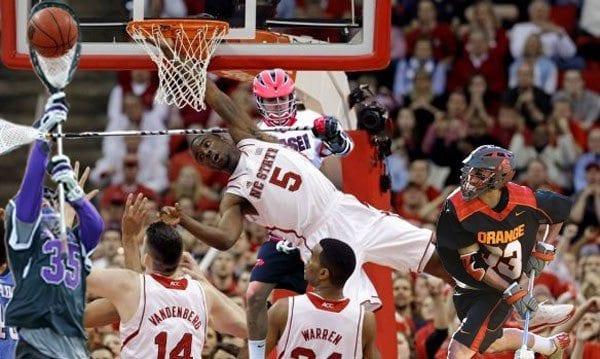 March madness basketball lacrosse bracket