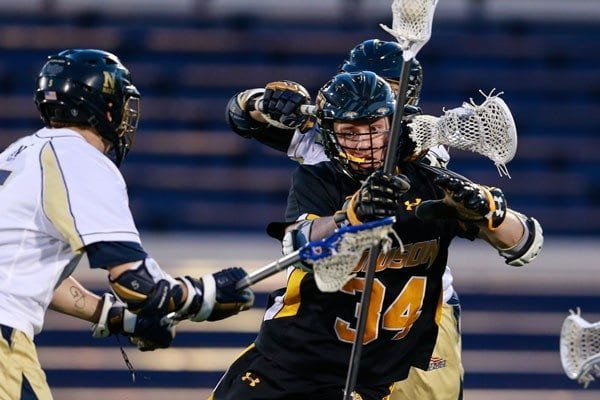 Towson vs Navy mens lacrosse