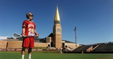 Denver Pioneers lacrosse Garret Holst