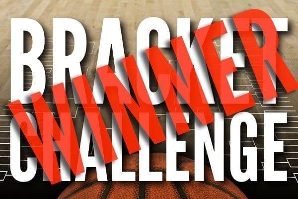 March Madness bracket challenge winner