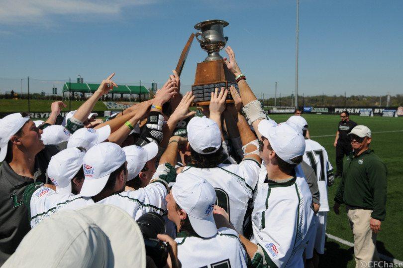 Photo credit: craig chase Loyola mens lacrosse 2014 Patriot League champions