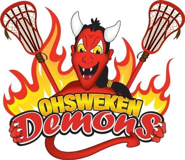 Oshweken Demons CLax Lacrosse