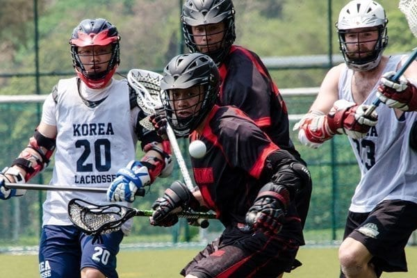 2014 Hong Kong Open - Hong Kong vs South Korea mens lacrosse