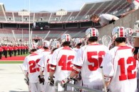 Ohio State vs. Michigan lacrosse 4/12/14 cred: LaxAllStars