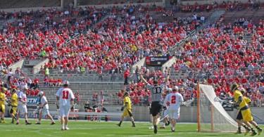 Ohio State vs. Michigan lacrosse 4/12/14