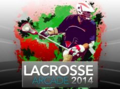 Lax Arcade lacrosse video game by Crosse Studios