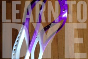 learn-to-dye dye lacrosse heads