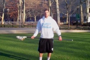 mitch belisle long stick ground balls for lacrosse defensemen