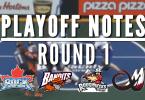 NLL playoff notes round 1
