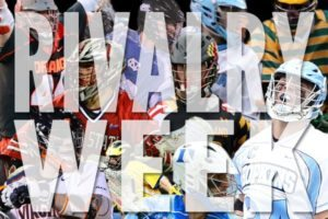 College lacrosse rivalry week 2014