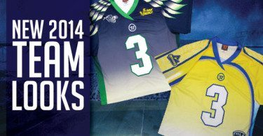 MLL Florida Launch Chesapeake Bayhawks new jersey 2014