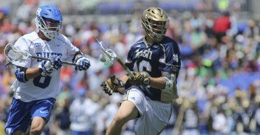 ACC Duke vs Notre Dame 2014 NCAA Men's Lacrosse Finals comparing the lacrosse polls