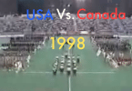 USA vs Canada men's lacrosse