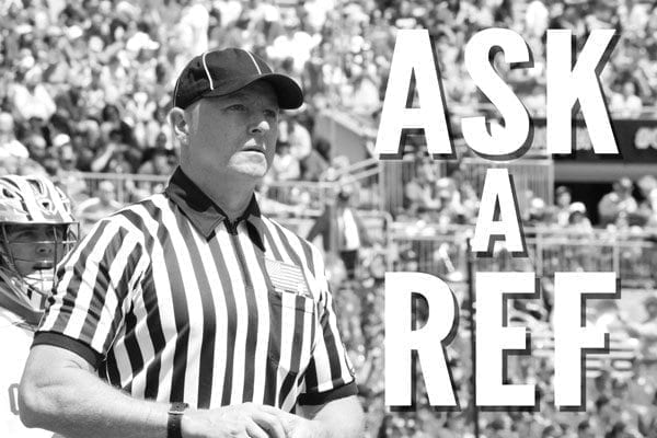 Ask a Ref lacrosse officiating
