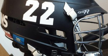 Shawndel Evans Lacrosse Helmet