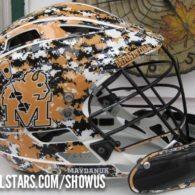 Riley Maydanuk goalie lacrosse helmet