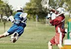 Gatorade Instagram photo of lacrosse behind the back shot