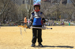 Humans of New York features youth lacrosse player in New York City