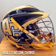 Florian Braatz Germany lacrosse helmet