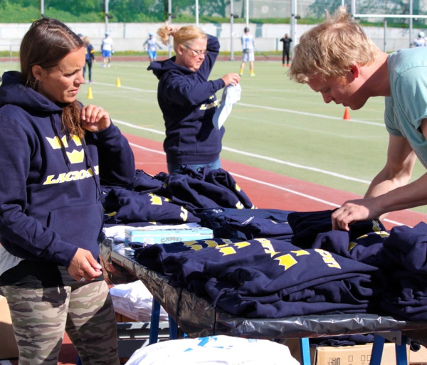 Sweden lacrosse tshirts