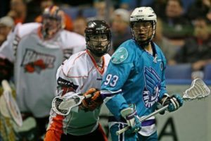 Photo Credit: Larry Palumbo Rochester Knighthawks Buffalo Bandits NLL lacrosse Cody Jamieson
