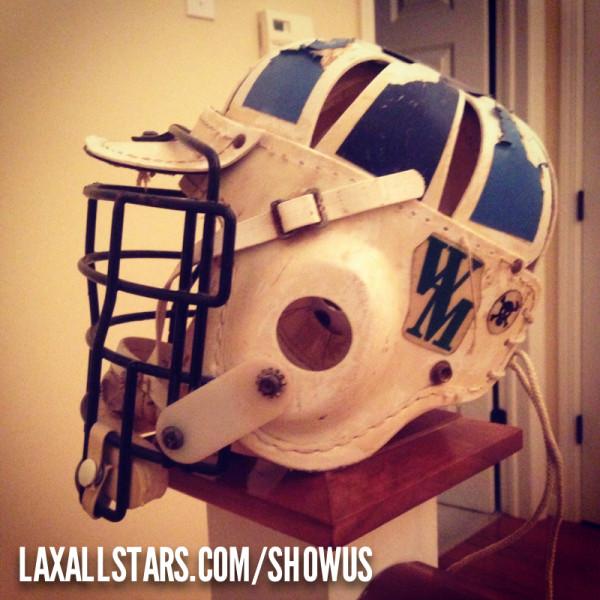 Jason Sanders Lacrosse Helmet