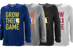 Custom Men's Grow The Game Crewneck Sweatshirts
