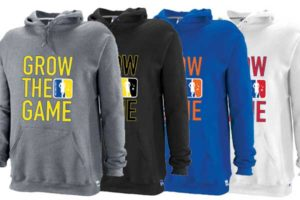 Custom Men's Grow The Game Hoodies