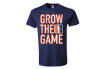 Custom men's Grow The Game t-shirt