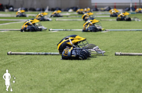 Michigan lacrosse helmet 2014