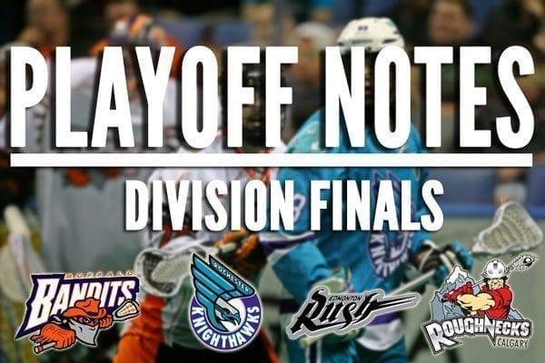 NLL division finals 2014 rochester knighthawks buffalo bandits edmonton rush calgary roughnecks