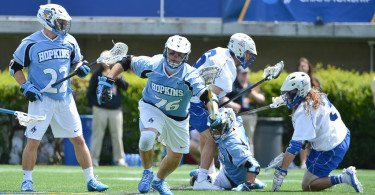 Duke vs Johns Hopkins mens lacrosse 2014 NCAA quarter final