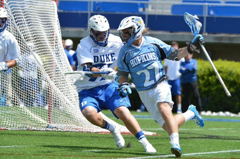 Duke vs Johns Hopkins mens lacrosse 2014 NCAA quarter final Recruiting in College Lacrosse
