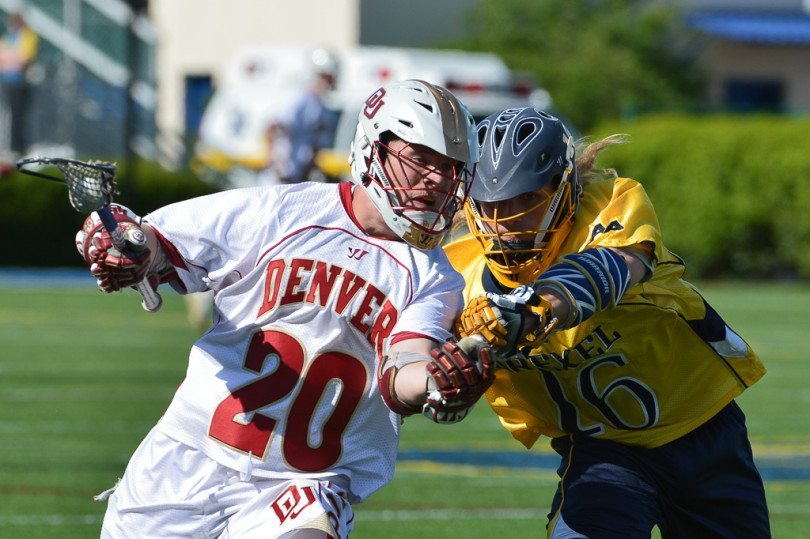 Denver vs Drexel Mens Lacrosse May 18, 2014 NCAA quarterfinal Photo Credit: Tommy Gilligan
