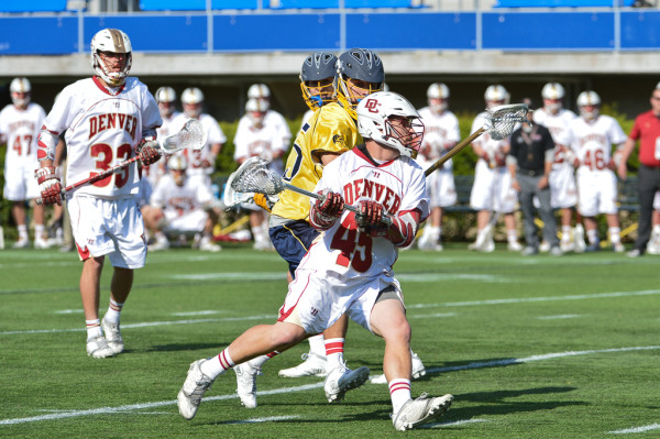 Denver vs Drexel Mens Lacrosse May 18, 2014 NCAA quarterfinal Photo Credit: Tommy Gilligan college lacrosse shot clock